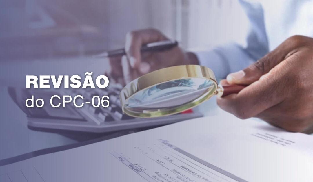 Revisão do CPC-06 :  arrendamento mercantil (leasing)
